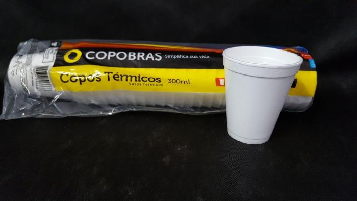 COPO ISOPOR 300 ML COPOBRAS