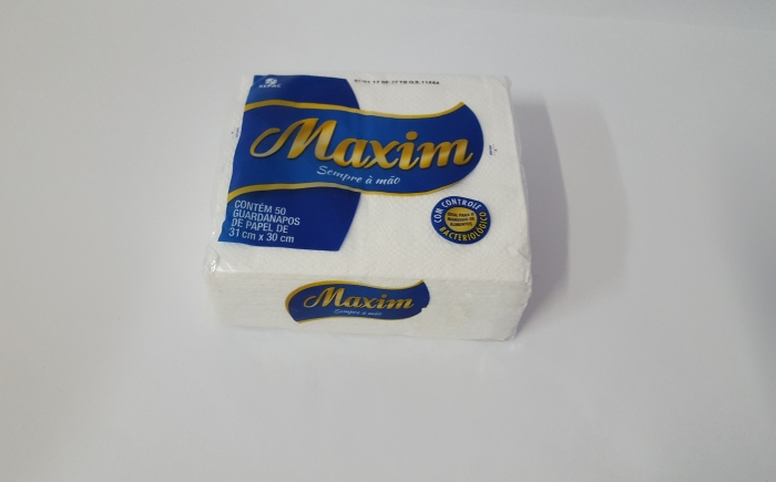 GUARDANAPO 31X30 MAXIM C/ 50 UN