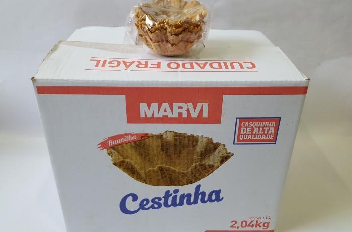 CESTINHA C/ 120 UN 110 GR MARVI