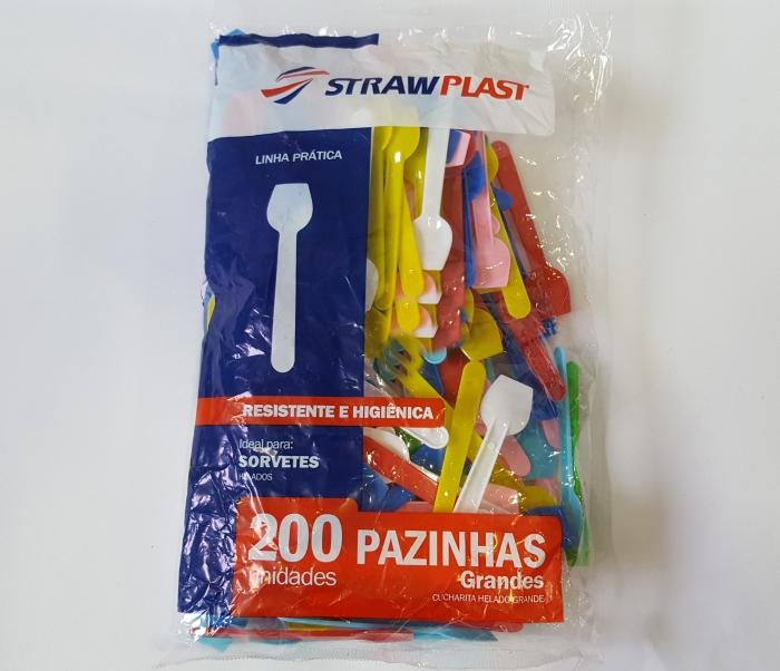 PÁ DE SORVETE GRANDE MISTA C/ 200 UN