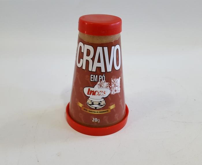 CRAVO EM PÓ TUBO 20 GR