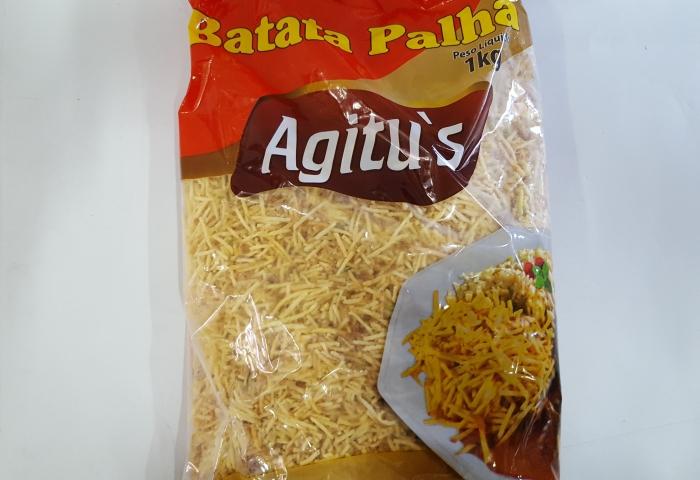 BATATA PALHA 1 KG AGITUS