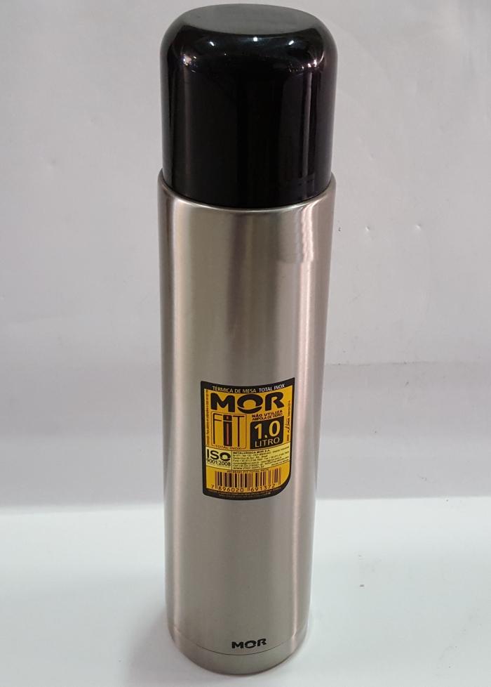 GARRAFA TÉRMICA TOTAL INOX FIT 1,0 L