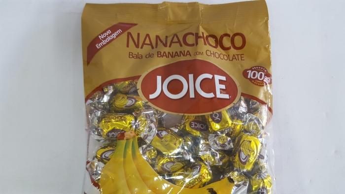 BALA BANANA NANACHOCO 600 GR JOICE