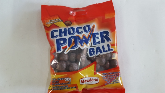 CHOCO POWER GROSSO AO LEITE 80 GR MAVALERIO
