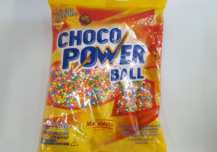 CHOCO POWER MICRO COLORIDO 500 GR MAVALERIO