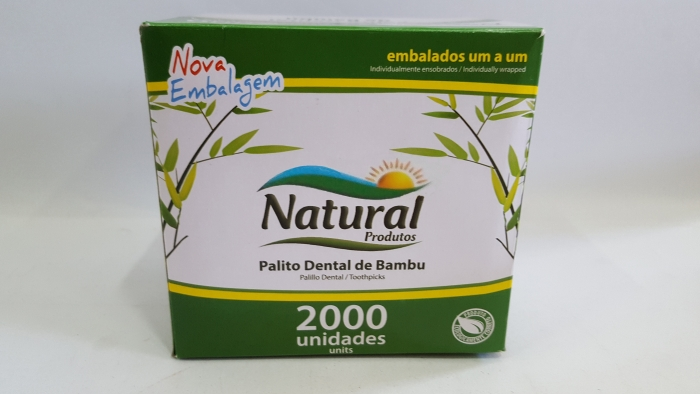 PALITO DENTAL DE BAMBU 2000 UN.