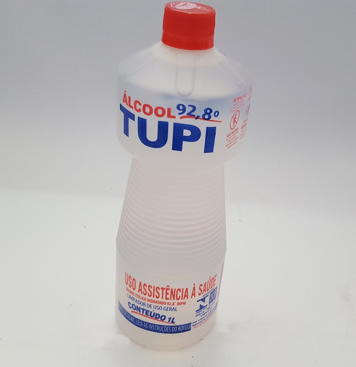 ÁLCOOL LIQUIDO 92,8 % 1 LTO TUPI