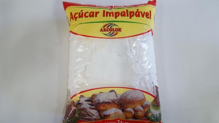 AÇUCAR IMPALPAVEL EXTRA FINO 1KG ARCOLOR