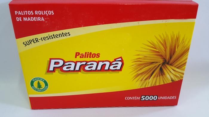PALITO DE DENTE PARANA C/5000 UND.