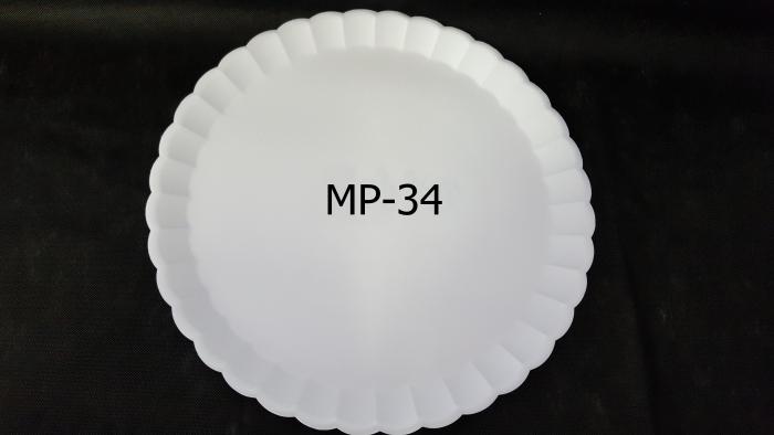 PRATO ISOPOR N 34 BRANCO MEIWA