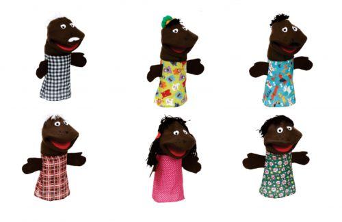 BM - Fantoche Família Negra