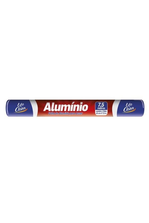 Folha aluminio life clean 30cmx4m