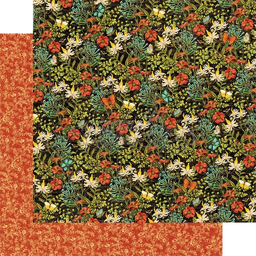 Papel Graphic 45 Nature - Wildflower