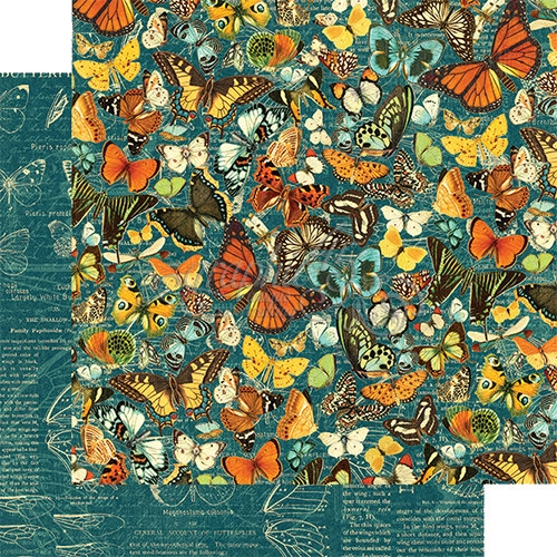 Papel Graphic 45 Nature - Monarch Majesty