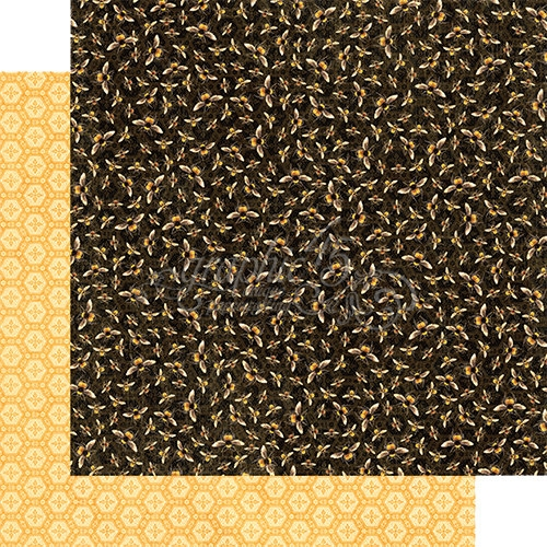 Papel Graphic 45 Nature - Honeybees