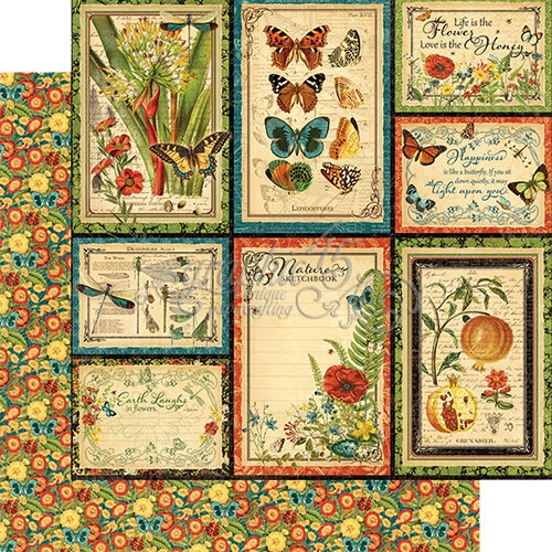 Papel Graphic 45 Nature - Beautiful Wold