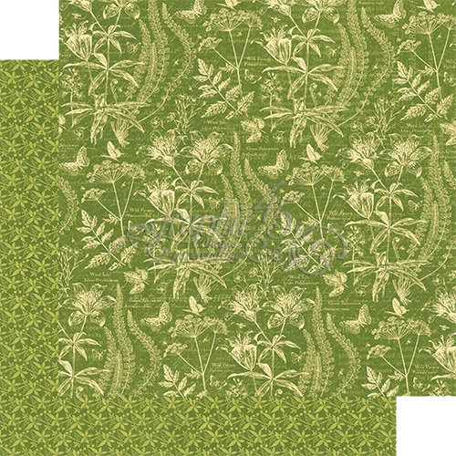 Papel Graphic 45 Nature - Flora Fascination