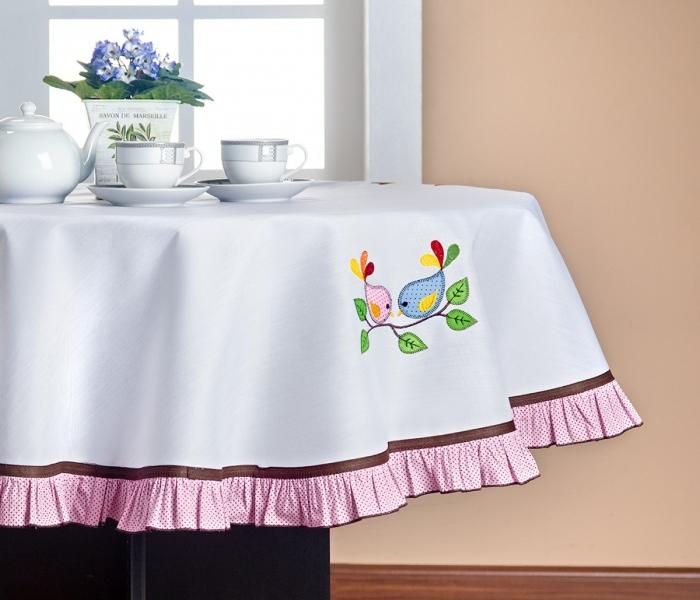 Toalha de mesa redonda Marselle/ASP textil