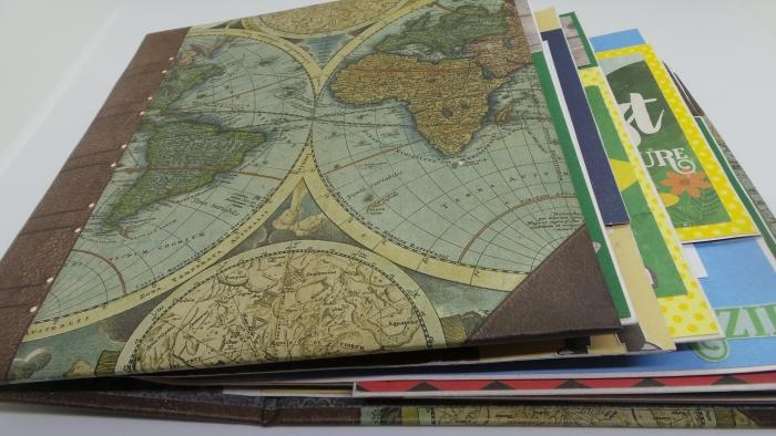 Álbum Flipbook - Viagem Around The World