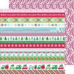 Papel Here Comes Santa Claus Santa´s Sweets - Doodlebug