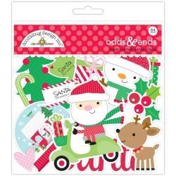 Die-Cuts (Pre Cortado) Icons Here Comes Santa Claus