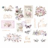 Lavender Frost Chipboard - Prima Ma...