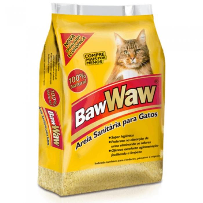 Areia higienica baw baw