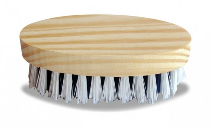 Escova oval madeira parolar