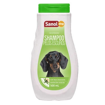 Shampoo sanol pelos escuro