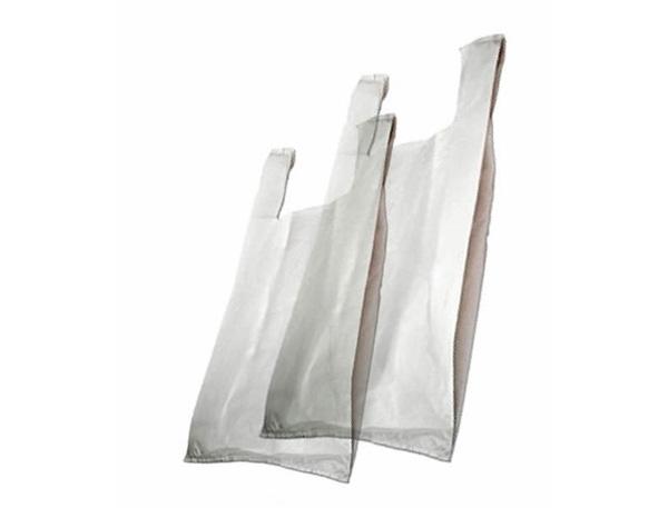 Sacola branca grossa 30x40 pc 4kg