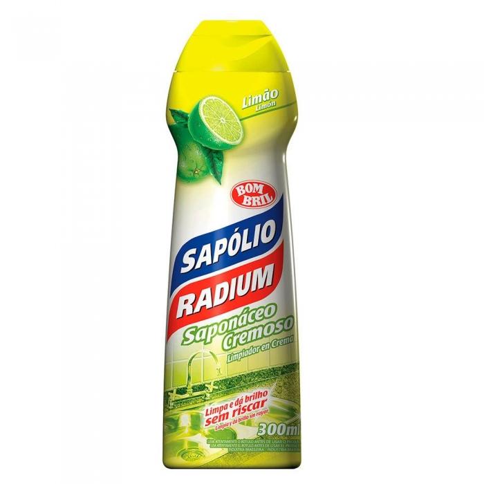 Sapolio radium cremoso limao 300ml
