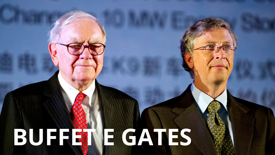 Bill Gates e Warren Buffet