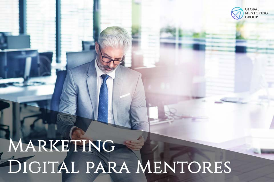 Mapa Mental Marketing Digital para Mentores