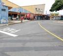 A cena  passa-se entre as ruas Monsenhor Soares e Cel. Pedro Dias Batista,  na parte de trás onde se situa a agência central do Correio e o Mercadão - Mike Adas/Arquivo Jornal Correio