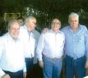 Num prestigiado acontecimento social acontecido em agosto nesta cidade (esquerda para direita): Adherbal Ferreira Rodrigues, Fernando Pereira de Moraes, Murilo Prestes D'Avila e Clodoaldo Gomes