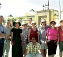 Grupo de itapetininganos no último outubro em Rabat, capital de Marrocos, norte da África. Os nomes estão ao lado.  - Foto: Hallak