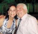 O casal empreendedor Rosa Maria (Ibrahim) – João Duarte, proprietário de uma conhecida imobiliária, aqui.