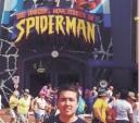 O engenheiro agrônomo itapetiningano Felipe Campos Vieira, no último maio em Disney World (Parque do Marvel), Orlando, Flórida, Estados Unidos. O parque é novo lá