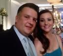 O casal itapetiningano Letícia (Piedade) – Antonio Lauro de Mello Moraes, o Lalo diretor-proprietário da TVI (a cabo), em recente comemoração