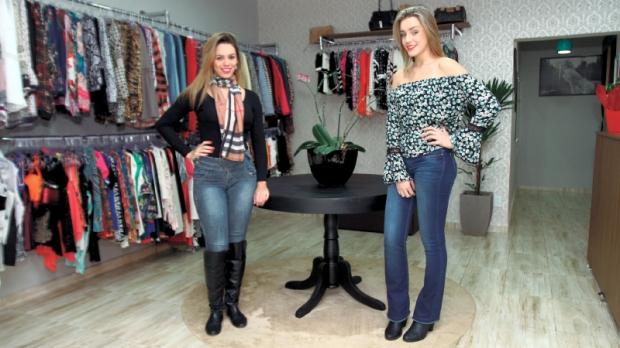 As irmãs Cristiane e Vanessa Garcia, escolheram investir em uma boutique descentralizada, conquistando clientes com poder aquisitivo mais variado