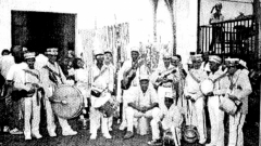 Há sessenta anos comemorava-se o Dia do Folclóre com um verdadeiro e atraente festival com um dos principais grupos folclóricos  da época