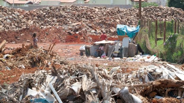 Atual Ecoponto na Vila Arlindo Luz ainda recebe entulho doméstico em pequenas quantidades