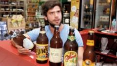 Um dos proprietários do Pronto Socorro das Bebidas, Fabiano Moreno,  explica que o mercado de cervejas de qualidade está crescendo na cidade