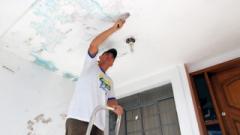 A pintura é uma das opções para melhorar a aparência do imóvel para vender ou alugar