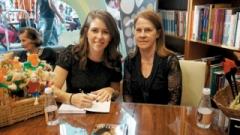 Luciane Camargo e Maria Nunes da Costa Menk estão organizando a Terça Cultural do Folclore