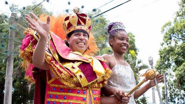 """São duas escolas que participarão: """"Aristocratas, Samba e Cultura"""" (Aristocratas do Samba) e """"Imperador do Samba""""."""