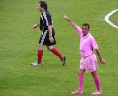 Margarida ficou conhecido no mundo do futebol pelo seu estilo humorístico de apitar
