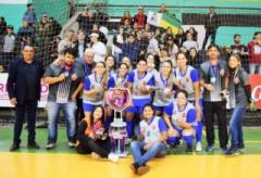 Ainda foram premiadas com troféu de artilheira, Fran Franco e melhor goleira, Nayara. Campanha contou com quatro vitórias, um empate e uma derrota.