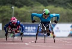 Jéssica Giacomelli, integra a lista dos 62 atletas e quatro atletas-guia de nove modalidades